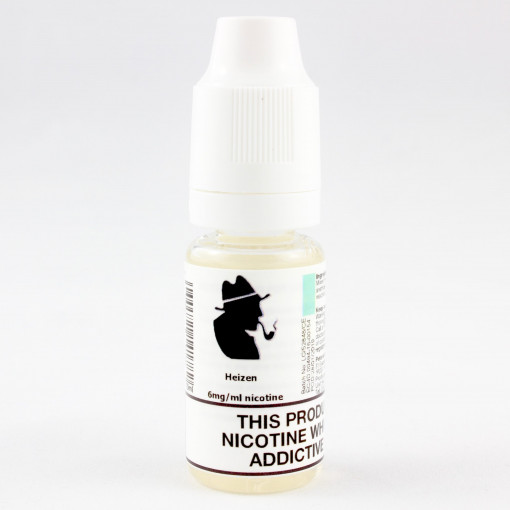 Petersham Pipes Eliquids Heizen. Available in 12mg, 6mg and 0mg. 50% propylene glycol, and 50% glycerine