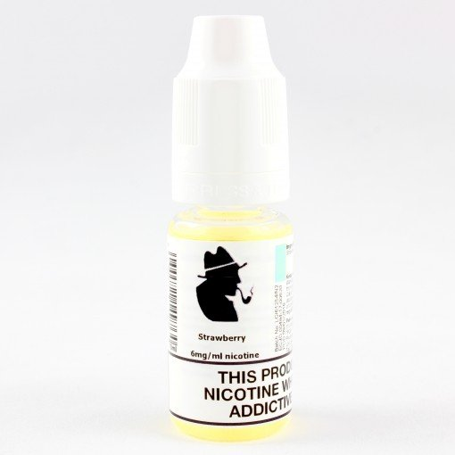 Petersham Pipes Eliquids Strawberry Available in 12mg, 6mg and 0mg. 50% propylene glycol, and 50% glycerine